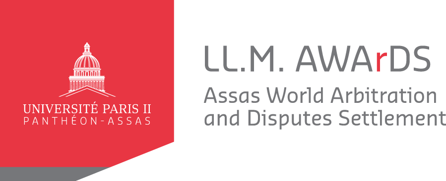 Logo LL.M. A.W.Ar.D.S (Assas World Arbitration and Disputes Settlement)