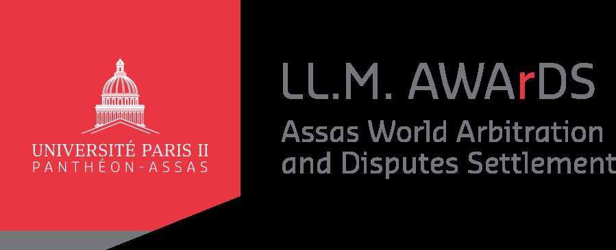Logo LL.M. A.W.Ar.D.S (Assas World Arbitration and Disputes Settlement)